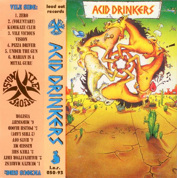 Acid Drinkers – Vile Vicious Vision