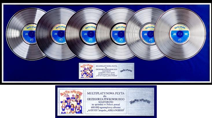 Arka Noego – A gu gu (multiplatynowa płyta)