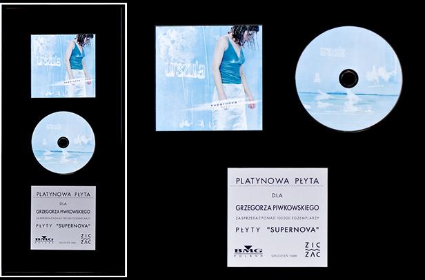 Urszula – Supernova (platynowa płyta)
